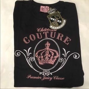 Juicy Couture Black Tee